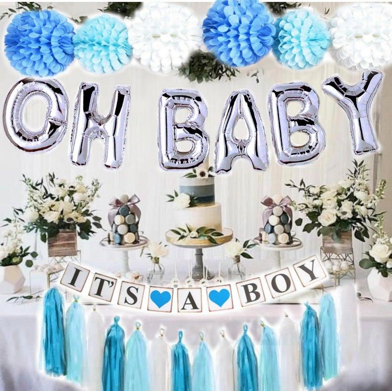 Babyshower decoratie